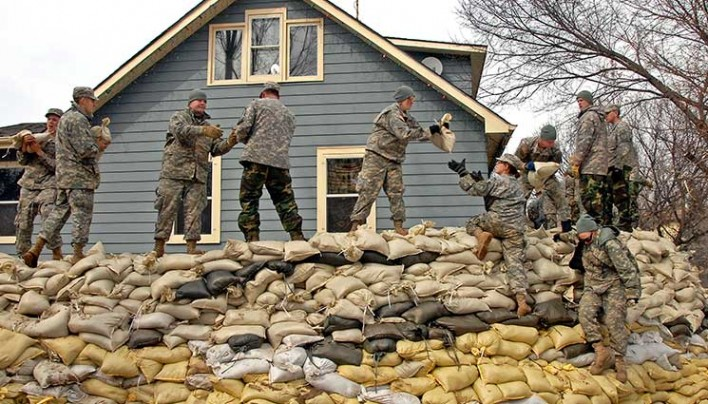 How to use Sandbags To Stop Water or Bullets