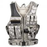 Tactical Crossdraw Military Cross Draw Vest w/Pistol Belt