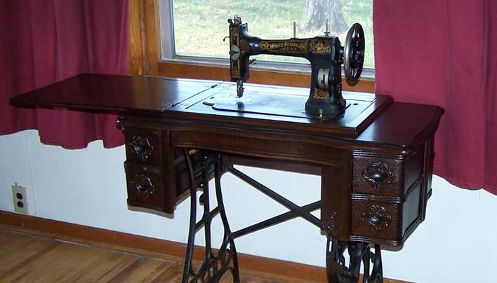 Stepping Up To A 40yearold Treadle Sewing Machine The Prepper Amazing 100 Year Old Singer Sewing Machine Value