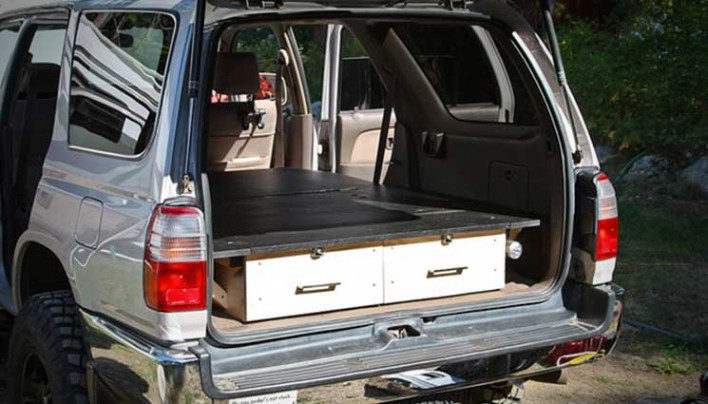 How to Build a Pickup Truck Sleeping Platform