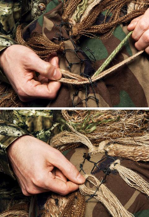 Tie In the burlap