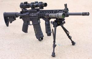 The AR in AR15 was originally for ArmaLite.