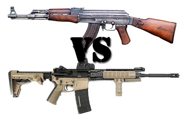 The Ak 47 Vs Ar 15 Which Rifle Is Better The Prepper Journal