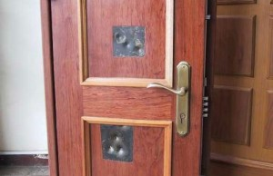 Image via Gizmodo & Securing Your Home by Reinforcing Doors - The Prepper Journal