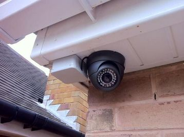 Having closed circuit TV camera's on your home can alert you to intruders.