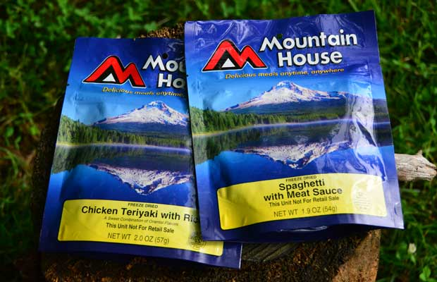 Mountain House Freeze Dried Food Taste Test Review