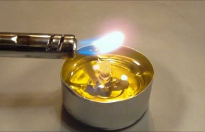 Survival Oil Lamp