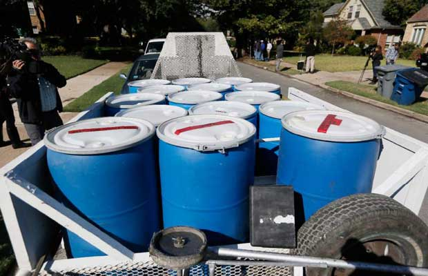 Each Ebola patient generates eight 55-gallon drums of hazardous waste daily - LA Times