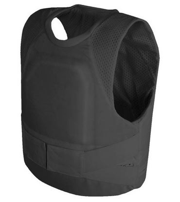 Body Armor can be worn concealed under clothes for protection in dangerous situations.