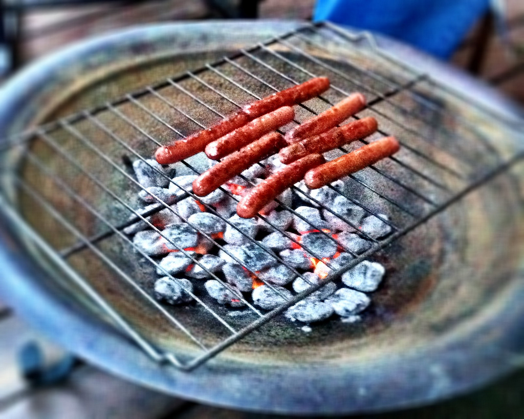 Convert that firepit to Grill master.