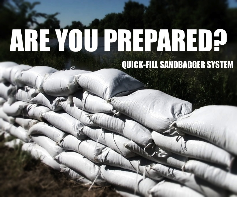 Sandbags are great prepper supplies