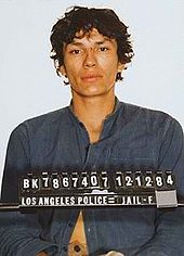 "Richard Ramirez, a serial killer based in Los Angeles, whose murder spree in California in the mid-1980s led to him being known as the ""Night Stalker"""