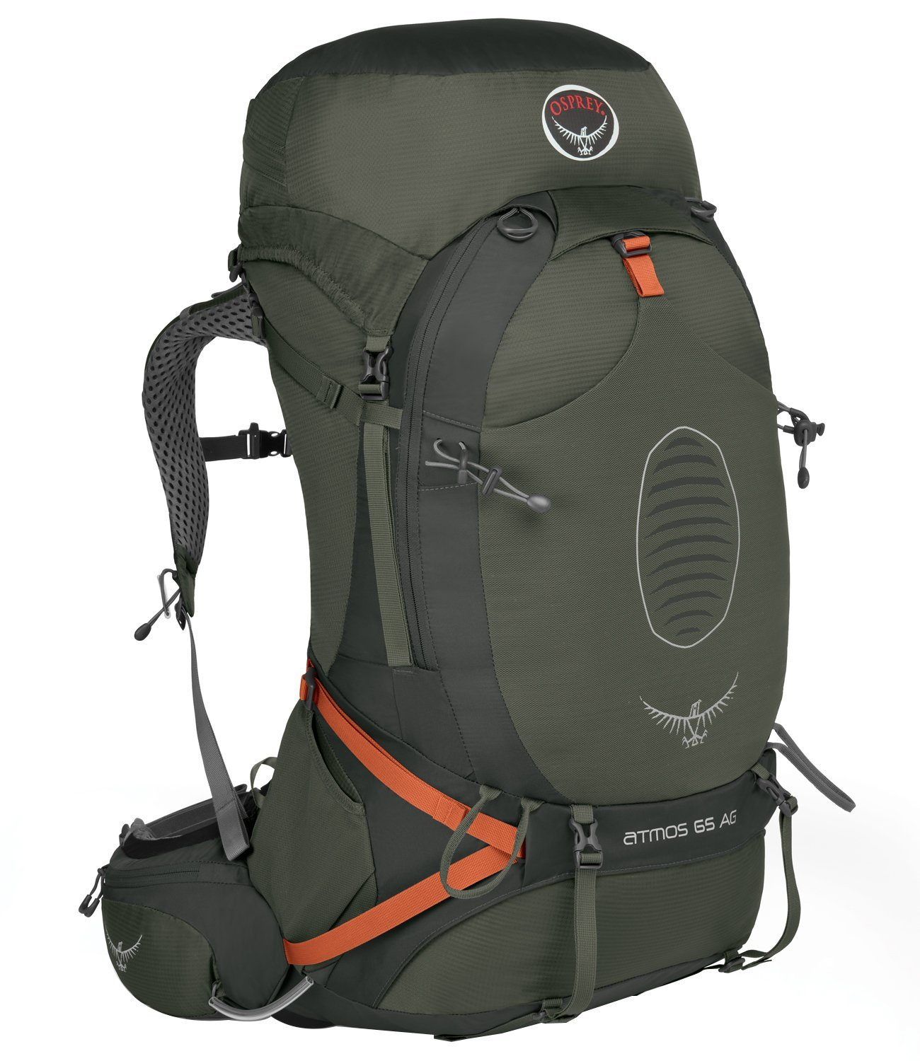 The Osprey Atmos 65 AG is only 3.9 pounds.