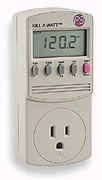 Kill A Watt Electricity Usage Monitor