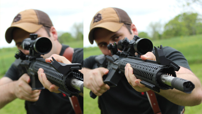 Gun Gadget - shooting offset-sights comparison - reddotsights_us