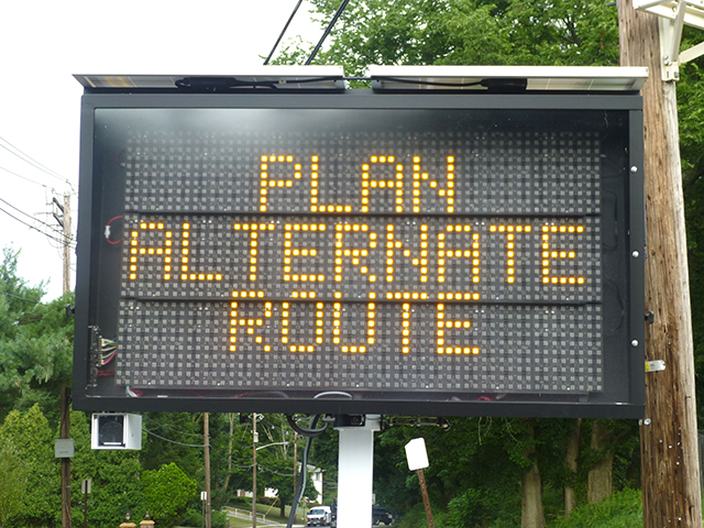 Having more than one route back home can help you avoid dangerous areas.