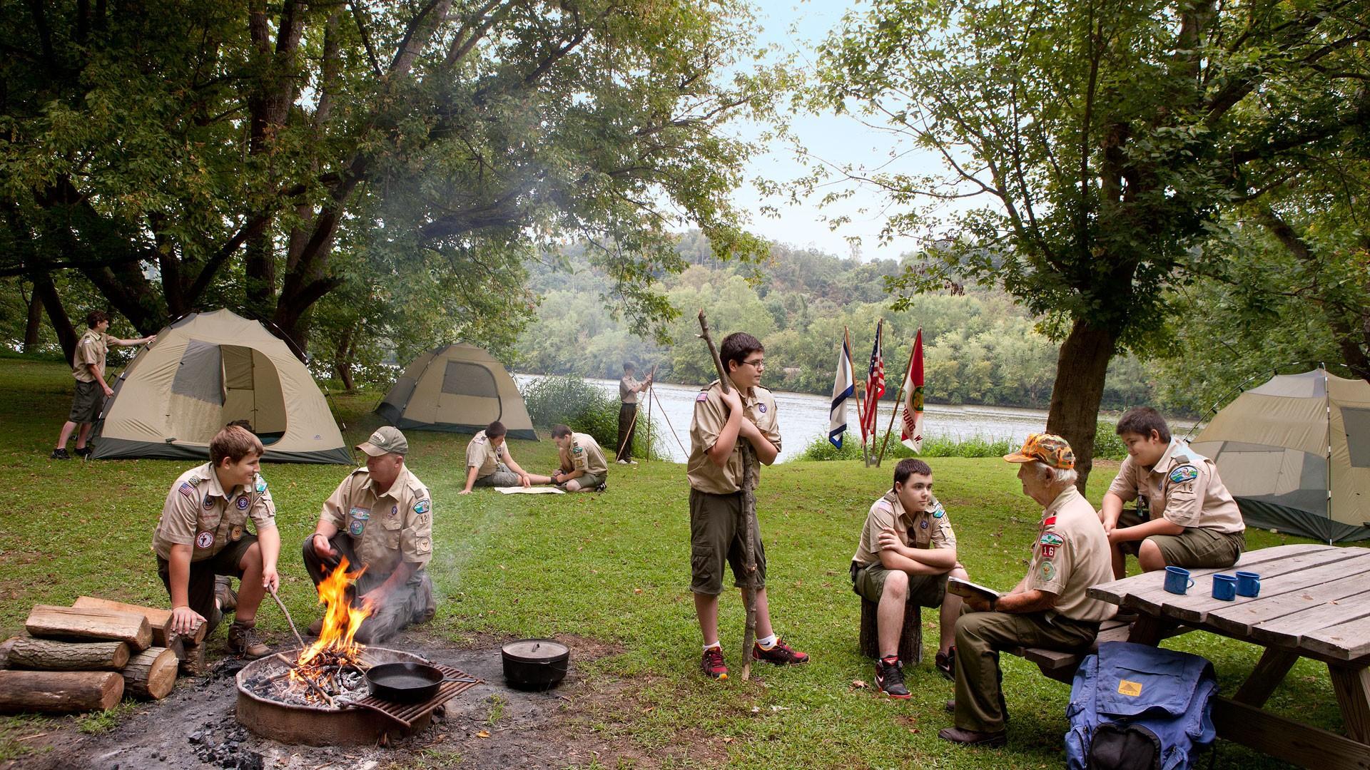 Boy Scout Summer Camp Craft Ideas