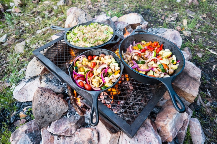 Good camping food