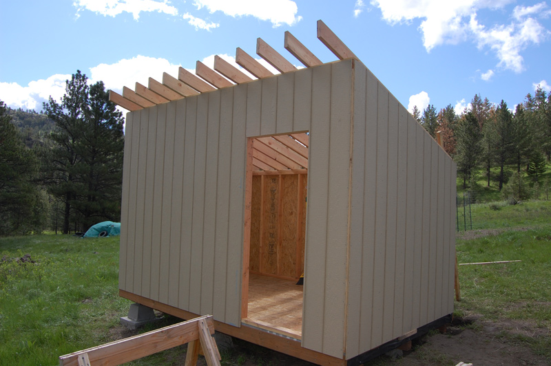 Introduction to building a storage shed part 2 the for Free shed design software with materials list