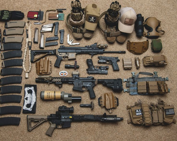 Airsoft equipment guide