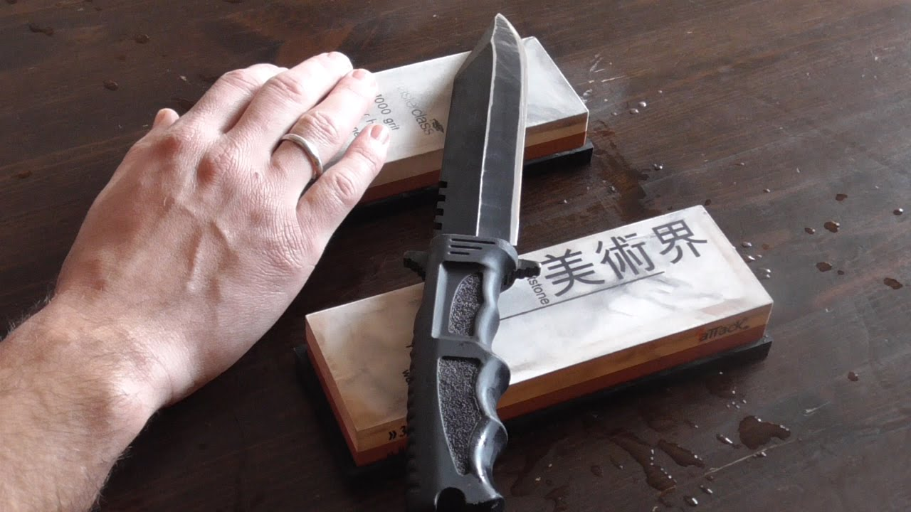 Now that we assume your blade is only dull, not damaged, or that you have restored the profile to the blade, lets talk about honing