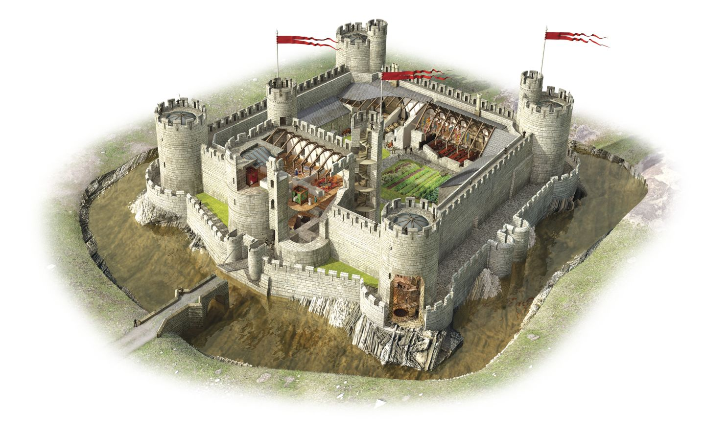 What Was Food Stored Inside During Medieval