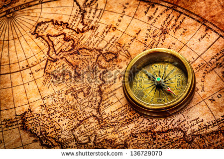 Us Map With Compass Globalinterco - Us map w compas